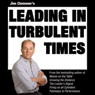 Jim Clemmers Leading in Turbulent Times (Unabridged), by Jim Clemmer