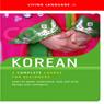 Korean (Unabridged) Audiobook, by Living Language