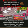 Learn Japanese through Dialogues: At the Restaurant (Unabridged) Audiobook, by Yumi Boutwell