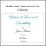 Letters of Love and Sensibility (Unabridged) Audiobook, by Jane Austen