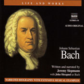 The Life and Works of Bach Audiobook, by Jeremy Siepmann