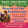 Magic Tree House, Book 34: Season of the Sandstorm (Unabridged) Audiobook, by Mary Pope Osborne