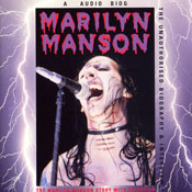 Marilyn Manson Story: A Rockview Audiobiography Audiobook, by Pete Bruens