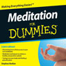 Meditation For Dummies Audiobook Audiobook, by Stephan Bodian