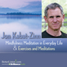 Mindfulness Meditations in Everyday Life and Exercises and Meditations, by Jon Kabat-Zinn