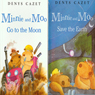 Minnie and Moo Save the Earth and Minnie and Moo Go to the Moon (Unabridged) Audiobook, by Denys Cazet