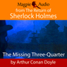 The Missing Three-Quarter (Unabridged) Audiobook, by Sir Arthur Conan Doyle
