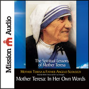 Mother Teresa: In Her Own Words (Unabridged) Audiobook, by Mother Teresa