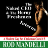 The Naked CEO & The Horny Freshmen Interns: A Modern Gay Sex Christmas Carol #5 (Unabridged), by Rod Mandelli