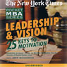 The New York Times Pocket MBA: Leadership and Vision (Unabridged), by Ramon J. Aldag