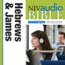 NIV Audio Bible, Dramatized: Hebrews and James Audiobook, by Zondervan