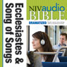 NIV Audio Bible: Ecclesiastes and Song of Songs (Dramatized) (Unabridged) Audiobook, by Zondervan