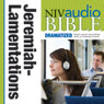 NIV Audio Bible: Jeremiah and Lamentations (Dramatized) (Unabridged) Audiobook, by Zondervan