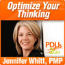 Optimize Your Thinking: How to Unlock Your Performance Potential Audiobook, by Jennifer Whitt