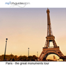 Paris - The Grand Monuments: mp3cityguides Walking Tour (Unabridged), by Simon Harry Brooke