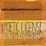 Poetic License: 100 Poems - 100 Performers (Unabridged) Audiobook, by Emily Dickinson