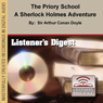 The Priory School: A Sherlock Holmes Adventure (Unabridged), by Sir Arthur Conan Doyle