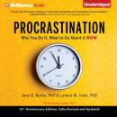 Procrastination: Why You Do It, What to Do About It Now (Unabridged) Audiobook, by Jane B. Burka