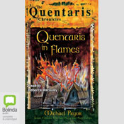 Quentaris in Flames: The Quentaris Chronicles, Book 1 (Unabridged) Audiobook, by Michael Pryor