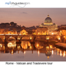 Rome - Vatican - Trastevere: mp3cityguides Walking Tour (Unabridged), by Simon Harry Brooke