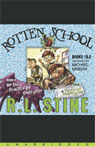 Rotten School 1 & 2: The Big Blueberry Barf-Off & The Great Smelling Bee (Unabridged) Audiobook, by R. L. Stine