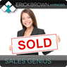 Sales Genius: Hypnosis & Subliminal Audiobook, by Erick Brown