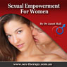Sexual Empowerment for Women with Hypnosis, by Janet Hall