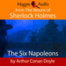 The Six Napoleons (Unabridged) Audiobook, by Sir Arthur Conan Doyle