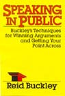 Speaking in Public (Unabridged), by Reid Buckley