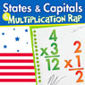 States and Capitals, and Multiplication Rap Audiobook, by Twin Sisters