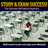 Study and Exam Success - Build Mental Muscles & Study More Effectively (Unabridged), by Christian Baker