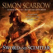 Sword and Scimitar (Unabridged), by Simon Scarrow