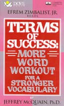 Terms of Success: More Word Workout for a Stronger Vocabulary, by Jeffrey McQuain
