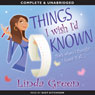 Things I Wish Id Known (Unabridged) Audiobook, by Linda Green