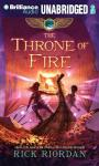 The Throne of Fire: Kane Chronicles, Book 2 (Unabridged) Audiobook, by Rick Riordan