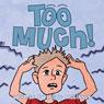 Too Much! (Unabridged) Audiobook, by Leslie McKinney