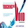 Touching the Void (Unabridged) Audiobook, by Joe Simpson
