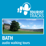 Tourist Tracks Bath MP3 Walking Tours: Two audio-guided walks around Bath (Unabridged), by Tim Gillet