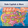 U.S. State Capitals and More: Capitals, Population and Land by State (Unabridged), by Deaver Brown