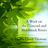 A Week on the Concord and Merrimack  Rivers (Unabridged) Audiobook, by Henry David Thoreau