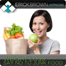 Weight Loss: Say No to Junk Food: Hypnosis & Subliminal Audiobook, by Erick Brown Hypnosis