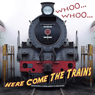 Whooo...Whooo...Here Come the Trains (Unabridged) Audiobook, by Molly Carroll