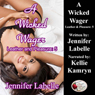 A Wicked Wager: Leather and Pleasure (Unabridged) Audiobook, by Jennifer Labelle