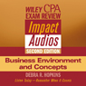 Wiley CPA Examination Review Impact Audios, Second Edition: Business Environment and Concepts (Unabridged) Audiobook, by Debra Hopkins