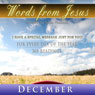 Words from Jesus: December: A Reading for Every Day of the Month Audiobook, by Simon Peterson