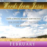 Words from Jesus: February: A Reading for Every Day of the Month Audiobook, by Simon Peterson