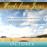 Words from Jesus: October: A Reading for Every Day of the Month Audiobook, by Simon Peterson