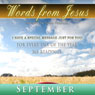 Words from Jesus: September: A Reading for Every Day of the Month Audiobook, by Simon Peterson