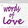 Words of Love Audiobook, by William Shakespeare
