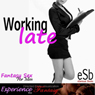 Working Late: Directed Erotic Visualisation (Impossible Lovers for Men) (Unabridged) Audiobook, by Essemoh Teepee